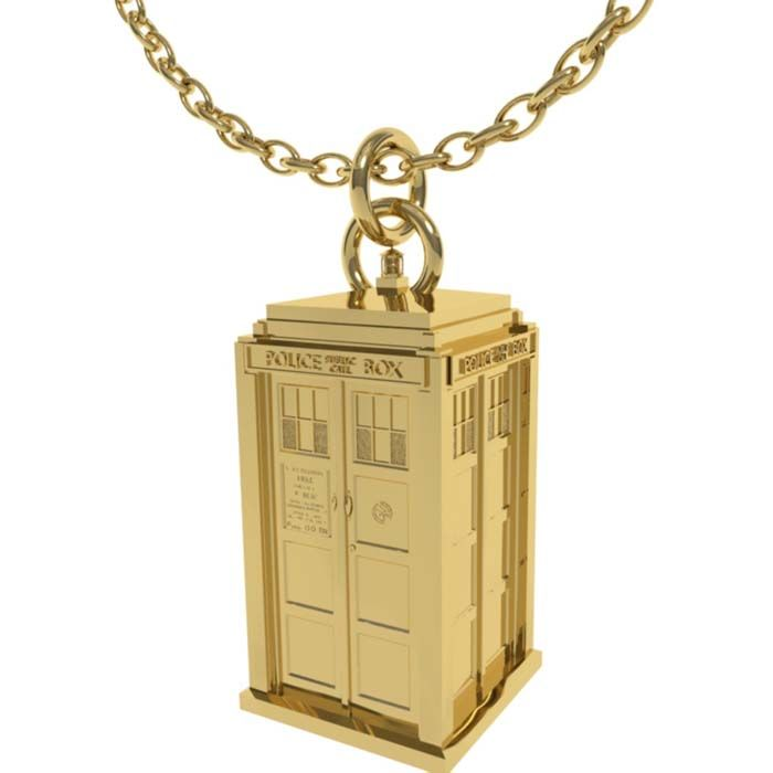 Official BBC Doctor Who 50th Anniversary Jewelry