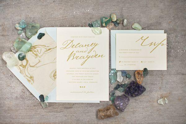Rock Quarry Wedding Inspiration from Vintage My Wedding   Ruffled