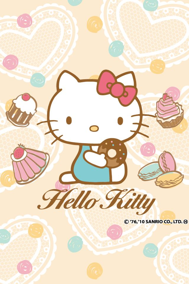 Hello Kitty Loves Sweets ~~~ Yummy
