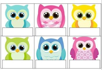 "OWL BULLETIN BOARD PIECES: ""LOOK WHOOO'S IN OUR CLASS!"" - TeachersPayTeachers.com"
