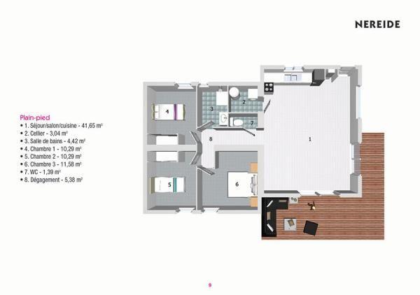 Plan Maison Bois Nereide