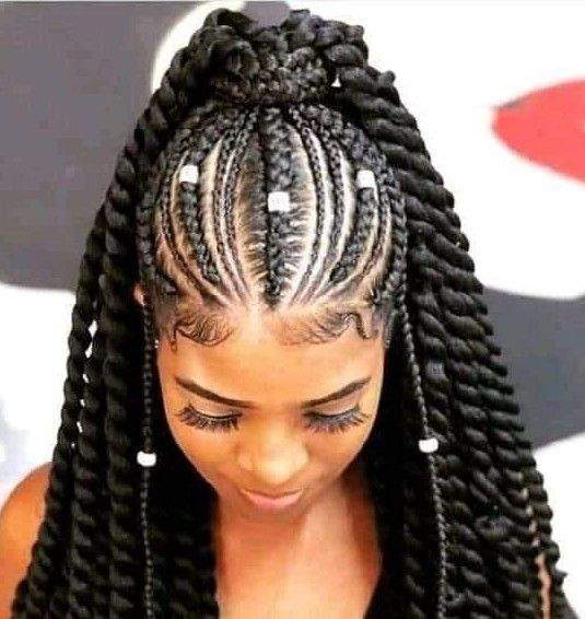 33++ Coiffures et tresses africaine inspiration