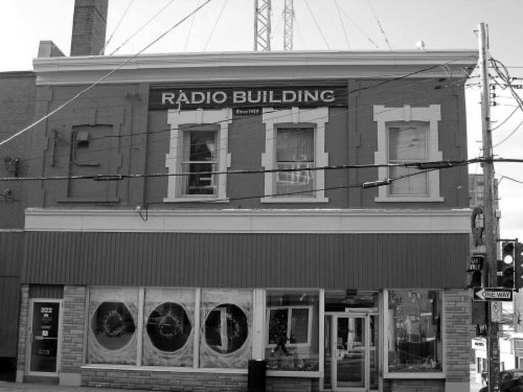 318 Charlotte St. Sydney-The Radio Building-Sydney-Cape Breton | Photographs And Memories of Cape Breton_Cape Breton Nova Scotia