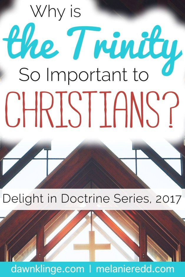 The Trinity. It's a mysterious part of the Christian faith. How Do You Explain the Trinity? What Are the Main Points We Need to Know About the Trinity? Why is This Teaching So Important to the Christian Faith? And, Why Does the Trinity Matter to in our lives? Discover the answers to these questions and more today on the blog. Why not drop by for a little deep thinking?