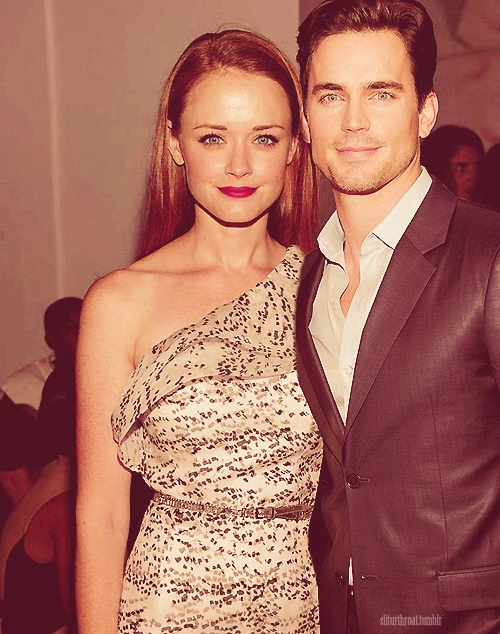 Matt Bomer (Christian Grey) & Alexis Bledel (Anastasia Steele). My dream cast!!  http://25.media.tumblr.com/tumblr_mdi2x9Qq941rpb04zo1_500.jpg