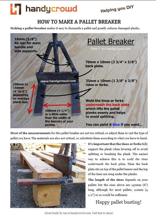 Pallet Breaker guide