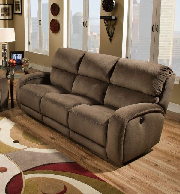 Southern Motion - Fandango Double Reclining Sofa with Power Headrest - 884-61-P