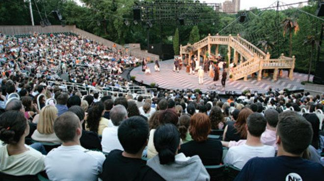 Shakespeare in the Park: Outdoor theater around NYC this summer