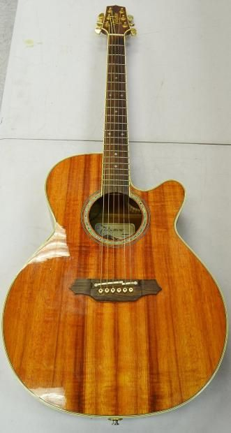 Takamine EF508KC Koa 6-String Acoustic Electric Guitar (2004)   Reverb