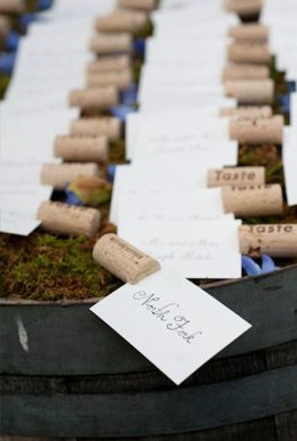 Cute Idea For Placecards For Dinner Parties Or For Labeling Food