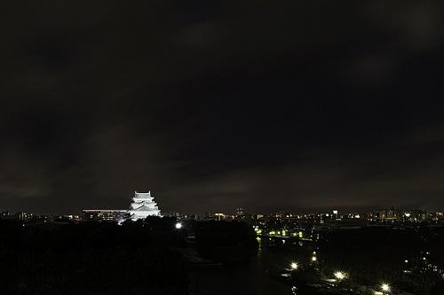 Nagoya Castle Facing Ise Bay