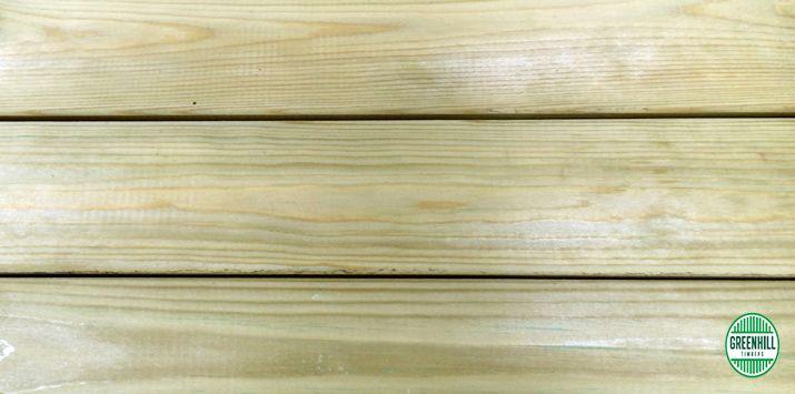 Treated Pine Decking Sample.   (03) 9465 9875 www.greenhilltimbers.com.au info@greenhilltimbers.com.au.