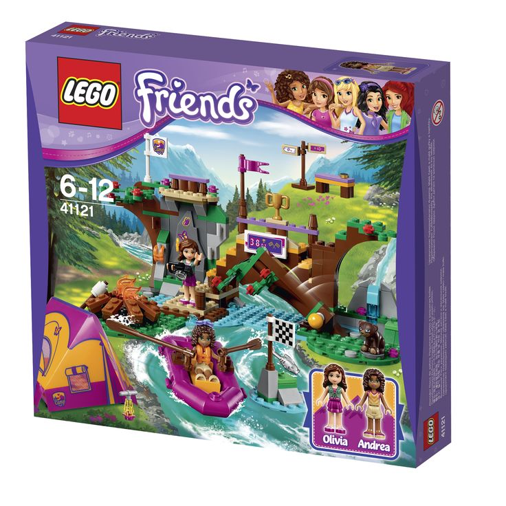 LEGO Friends Rafting