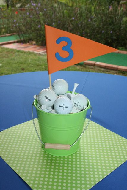 "Photo 5 of 21: Golf / Birthday ""Golf Birthday Par-Tee"" 