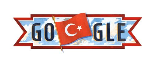 Turkey National Day 2016  Date: October 29 2016  Waving the countrys flag high todays Doodle celebrates 93 years since Turkey officially became a republic. To mark the occasion people across the country come together to enjoy parades speeches and poetry readings often leading up to a nighttime fireworks display.  Many people also lay wreaths at monuments dedicated to Mustafa Kemal Atatürk the republics founder and first president. He wasnt always called Atatürk though. The name which means…