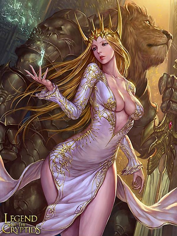 Artist: Unknown - Title: Unknown - Card: Realm Key Guardian Lycia (Locking)