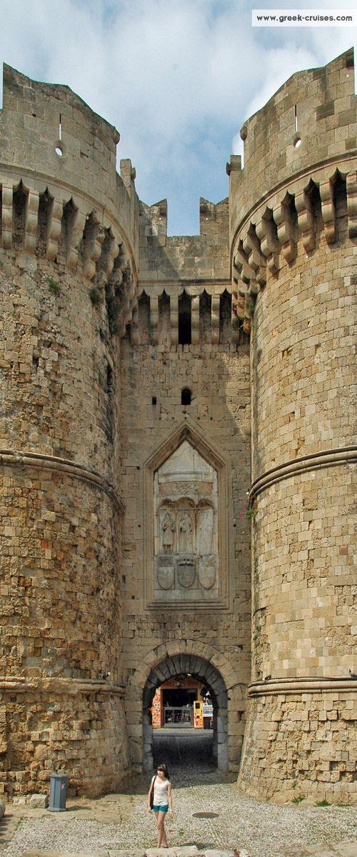 Rhodes, Greece    Visit #Greece with www.greek-cruises.com