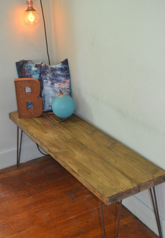 Industrial Kitchen Bench Mid Century Modern Here We Have A Stunning  Handmade Bench It Is Made