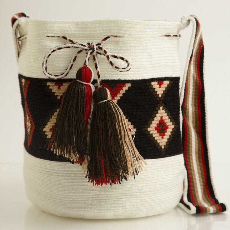 Хермоза вайуу Mochila | вайуу племени - племени вайуу | ручной чешские Сумки
