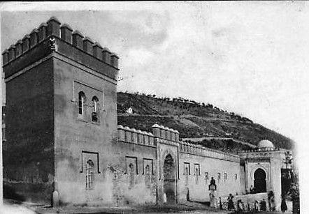 Fotografías de principios del siglo XX del Carmen-Palacio del Duque de San Pedro de Galatino, en las Vistillas de Los Ángeles. Hoy forma parte del Colegio de Santo Domingo.