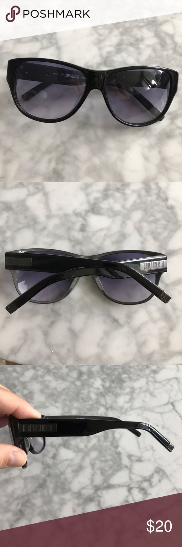 Karl Lagerfeld Sunglasses No scratches on glass, frame has little signs of wear, but nothing major Karl Lagerfeld Accessories Glasses