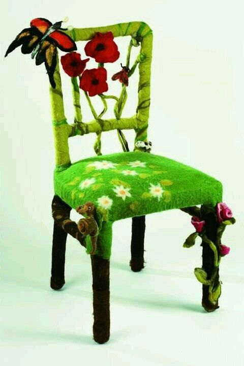 Felted chair