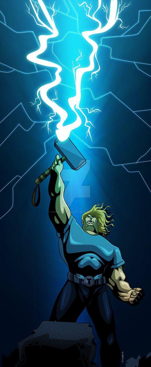Thor   #comic #comics #marvel #marvelcomics #illustrations #illustrator #vectores #vector