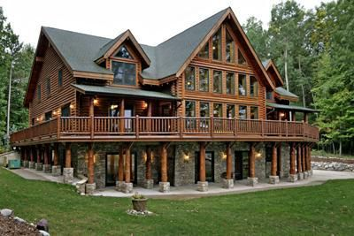 Michigan Log Homes