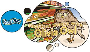 Want kids to become savvy consumers? Check out this interactive story about Olivia Owl and using her money more wisely through comparative shopping from @KansasCityFed. Great for young kids!