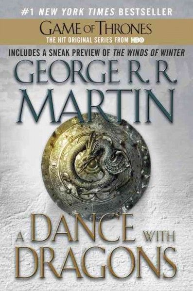 A Dance with Dragons Book Five of Game of Thrones by George. R.R. Martin