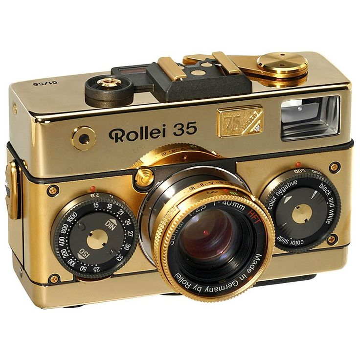"Special Model: Rollei 35 Classic ""75 Years"", 1995"