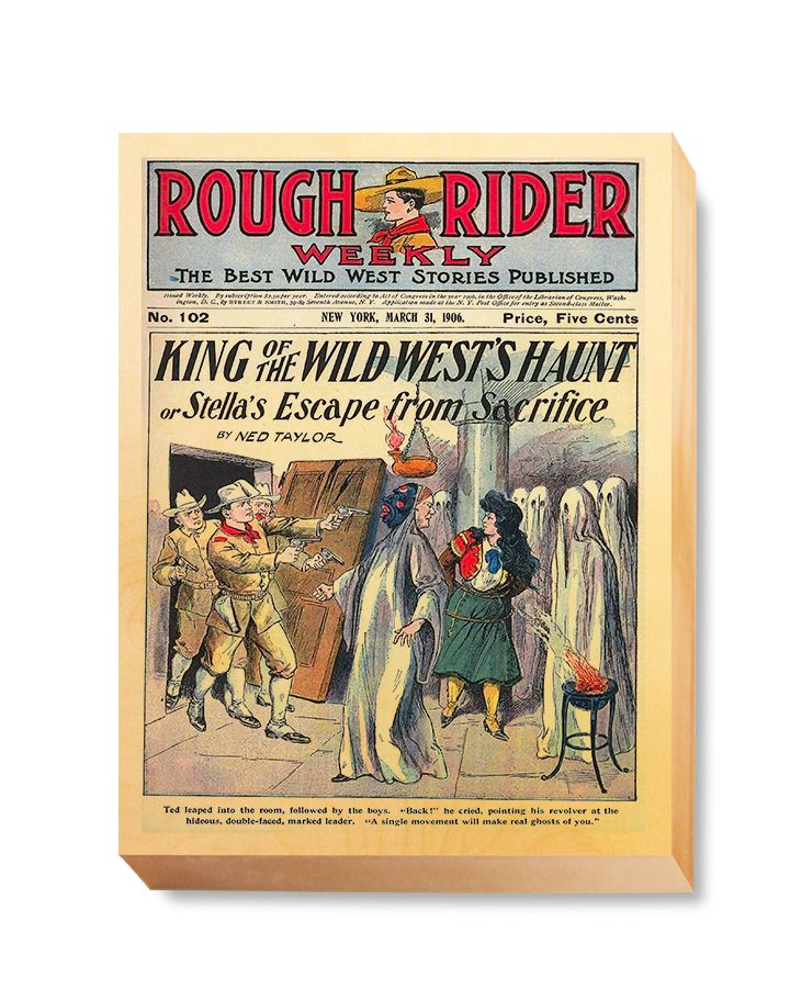 WES 015 Western Comic Rough Rider