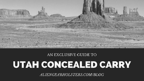 Utah Concealed Carry.   Continue reading at: http://aliengearholsters.com/blog/utah-concealed-carry/