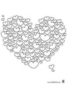HEART coloring pages - Valentines