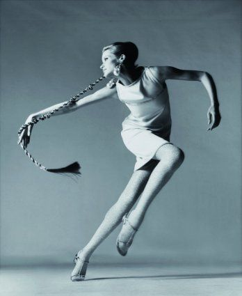 Veruschka by Richard Avedon, 1960s.