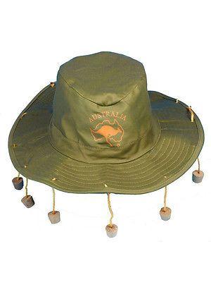 Fancy #dress #aussie australian hat with corks cork hat crocodile dundee #ozzie n,  View more on the LINK: http://www.zeppy.io/product/gb/2/201591237388/