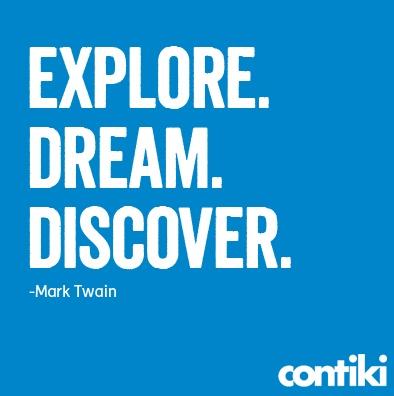 Mark Twain has it down!