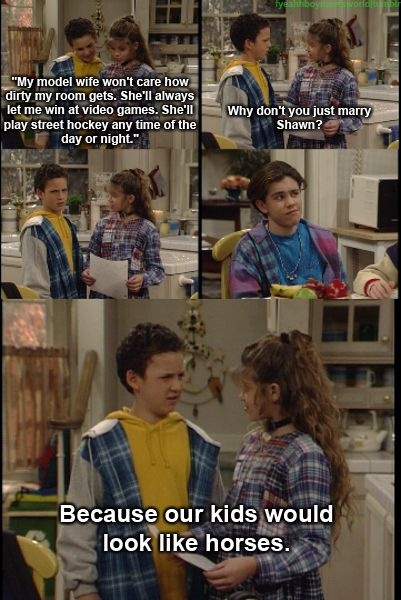 DUCKIES RULE! (boy meets world,ben savage,danielle fishel,rider strong)