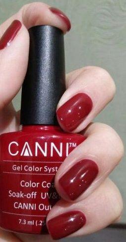 Маникюр с гель-лаком Канни. Яркий цвет для ярких девушек. #canni #gellak #shellac #маникюр #ногти #шеллак #гельлак #manicure #gellak #shellac