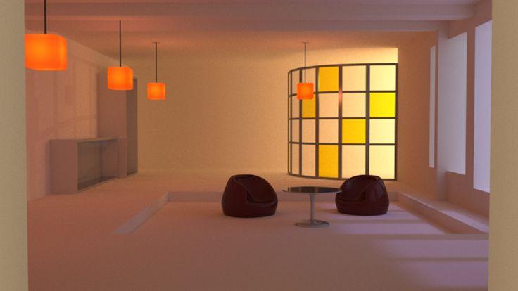 Kapitzke steffen licht und raum 3d gestalten objekt for 3d raum gestalten