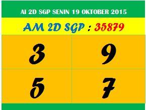 Jatah bandar singapura 19 oktober 2015
