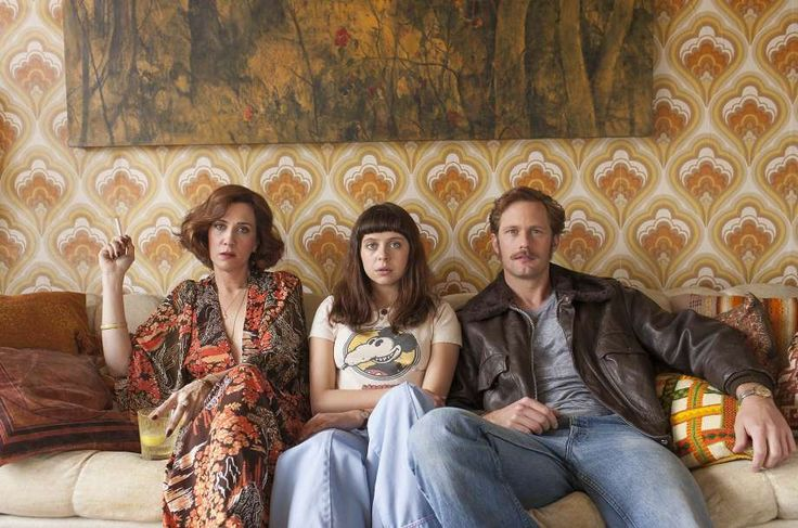 "Kristen Wiig (left) is Charlotte Goetze, Bel Powley is her daughter, Minnie, and Alexander Skarsgard is Monroe in ""The Diary of a Teenage Girl."" Photo: Sam Emerson, Courtesy Sony Pictures Classics"