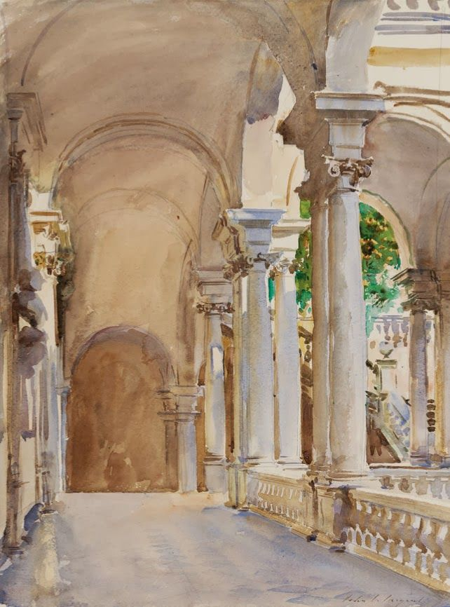 Università degli Studi di Genova (University of Genoa) c.1908 by John Singer Sargent