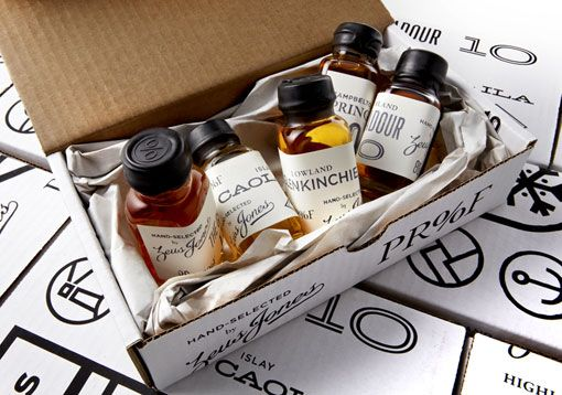 --Proof is an iPad App and tasting kit by Zeus Jones. It's an effort to turn whiskey tasting into a group game.