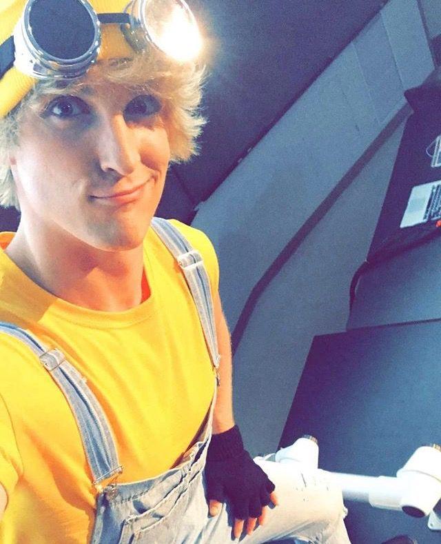 Logan Paul makes a pretty cute minion