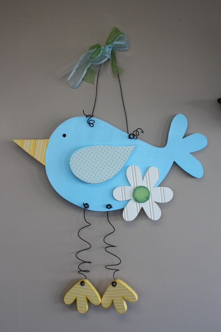 Large Hanging Bird