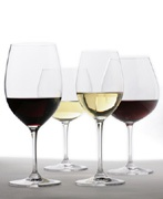 There are four basic types of wine glasses – red, white, sparkling, and dessert. On this page, you will learn about each of them.
