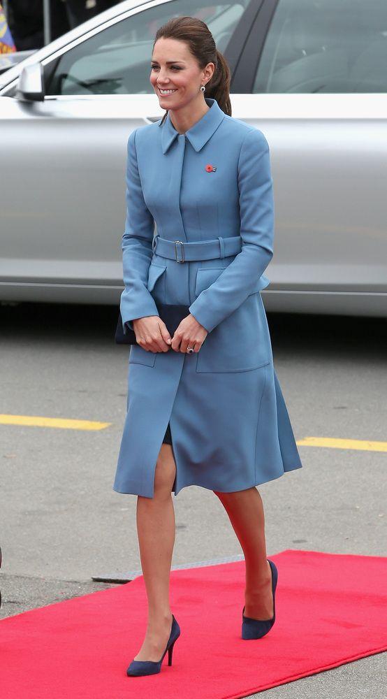 キャサリン妃が3回も着た、お気に入りのドレスはこれ(画像)