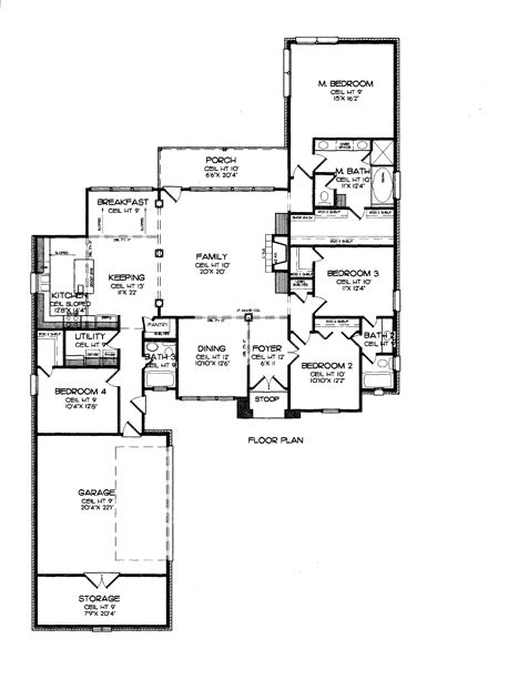 60 best floor plans images on Pinterest | Floor plans, House floor ...