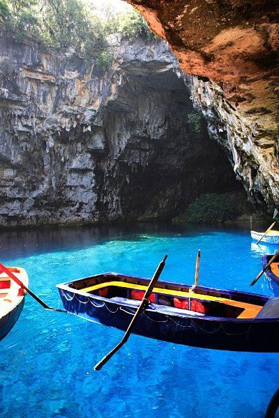Melissani Cave ~ Kefalonia Island, Greece
